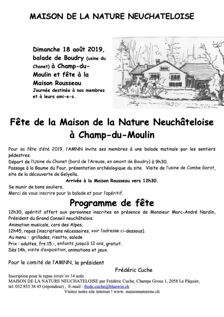 foto de Actualités – Association de la Maison de la Nature Neuchâteloise